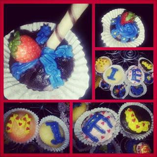 Sassyzeal valentines day cupcake