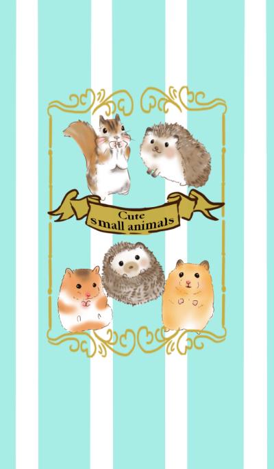 cute small animals Theme