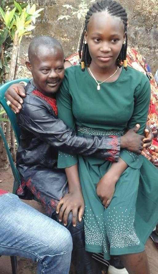 Photos: 16-year-old girl given out in marriage to an older 'demented' man from a wealthy family in Anambra