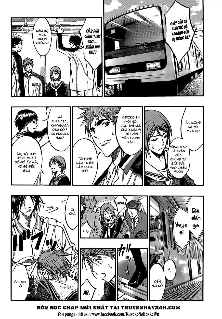 Kuroko No Basket chap 174 trang 8