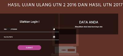 tanggal lahir peserta UTN