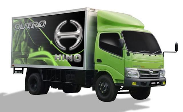 model hino dutro truk yang keren
