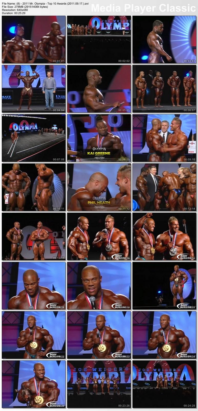 Mr. Olimpia 2011 - DVD