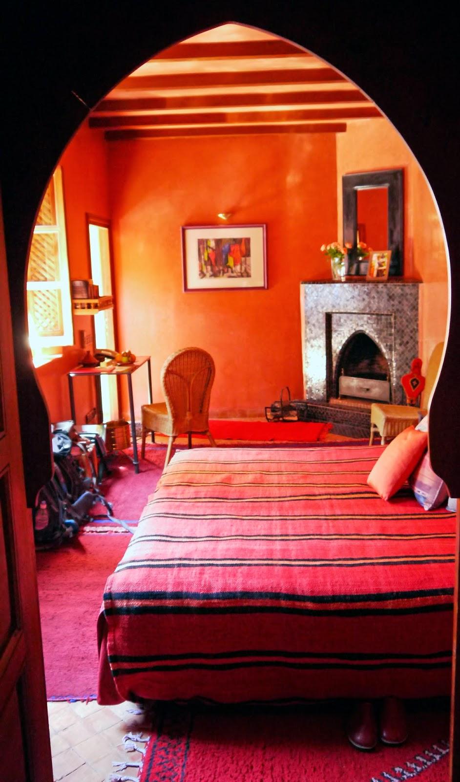 Bedroom Riad Noga Marrakesh