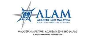 Jawatan Kosong Terkini 2016 di Akademi Laut Malaysia (ALAM)