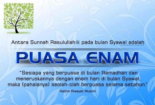 Kisah Keutamaan Berpuasa Enam Hari Setelah Bulan Ramadhan