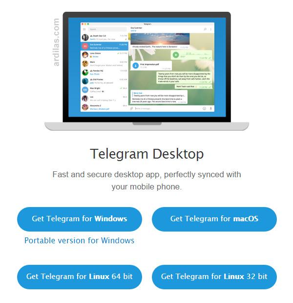 Telegram Di Pc Atau Laptop Cara Download Install Daftar