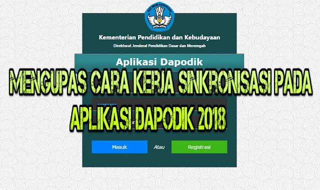 Mengupas Cara Kerja Sinkronisasi Pada Aplikasi Dapodik 2018