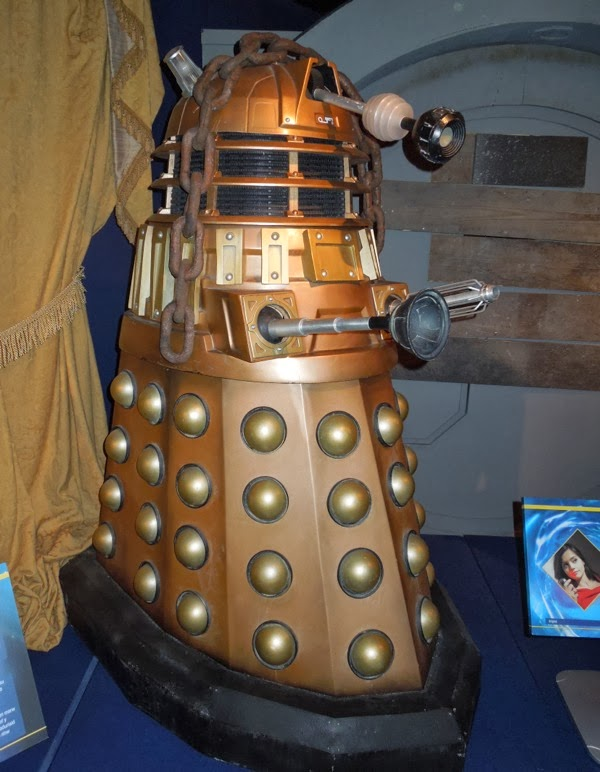 Oswin Dalek prop Asylum of the Daleks