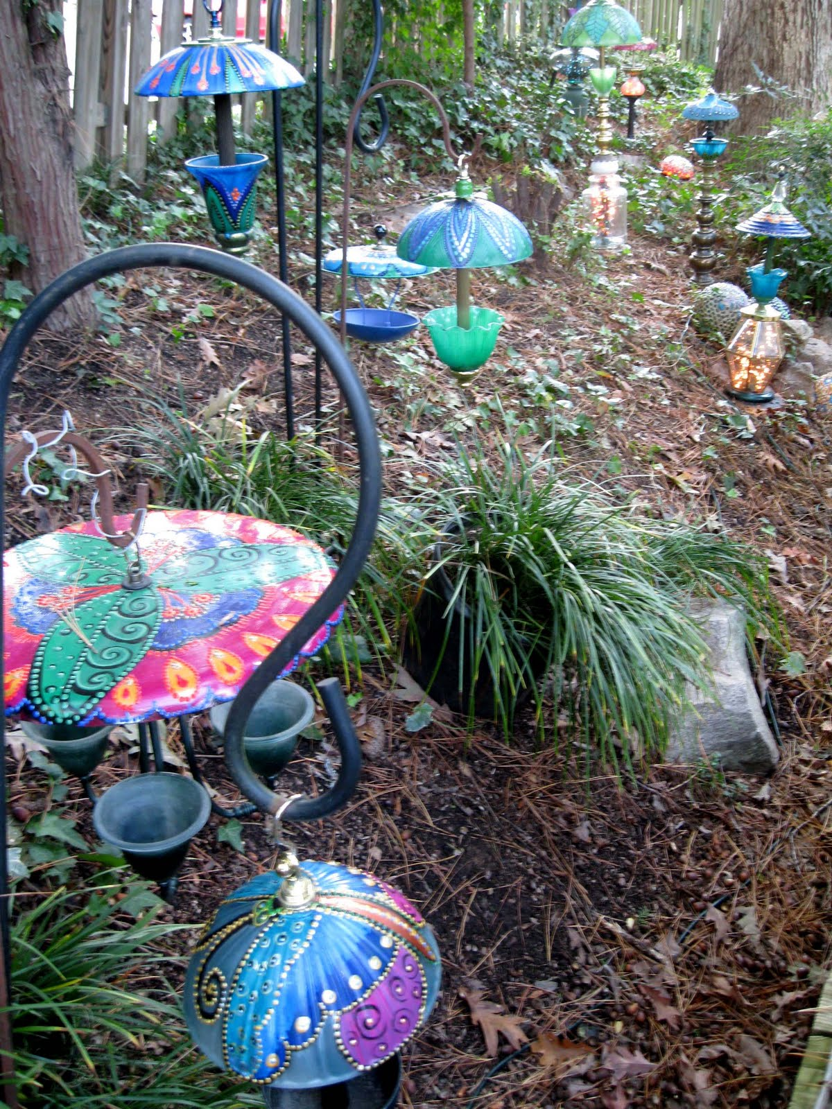 Donna S Art At Mourning Dove Cottage Whimsical Garden