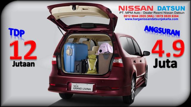 Promo Nissan New Grand Livina Jakarta TDP Minim