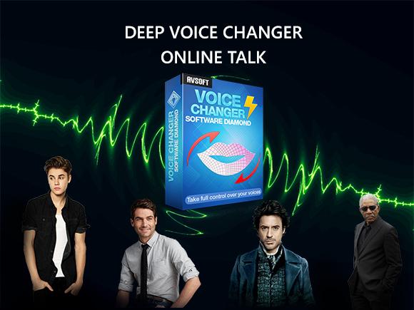 Deep voice changer for online talk