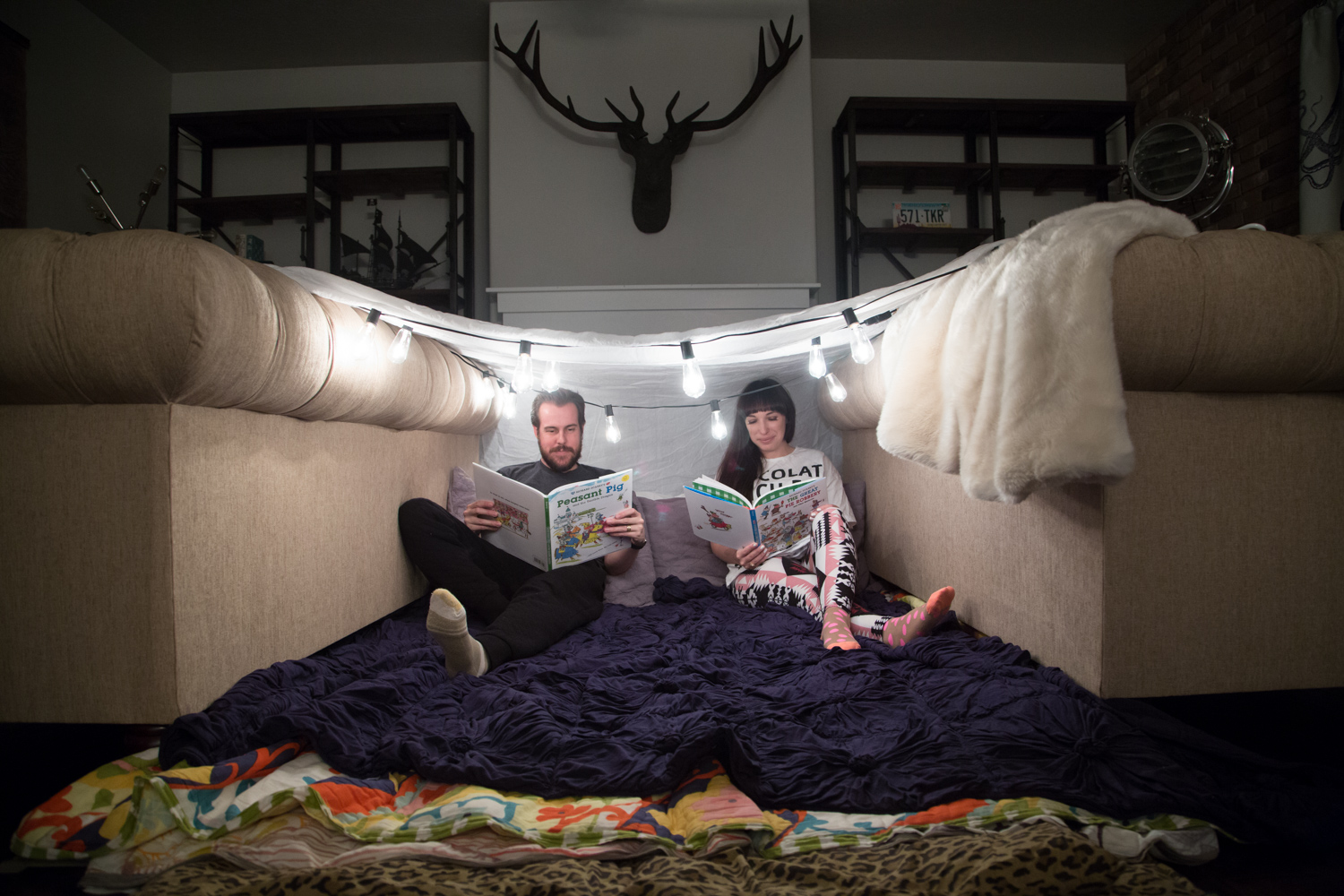 How to Build an awesome couch fort
