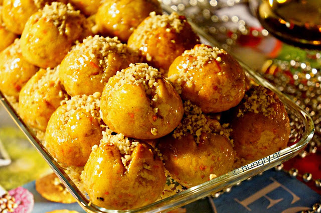 Melomakarona with Carrot, Honey Cookies
