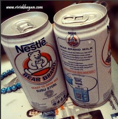 Bear Brand; Susu kesehatan; susu Steril;