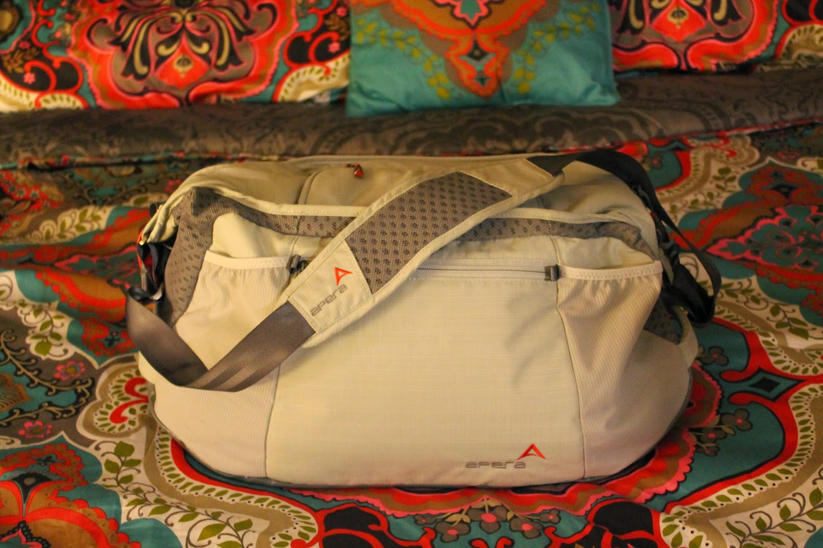 0b9fbe649 That thought got swept away the moment I received the Apera Performance Duffle  Bag. I knew my former weekend travel bag was replaced for good.