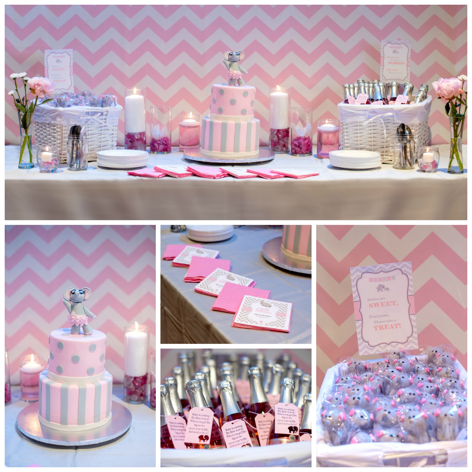 Pink Peanut Baby Shower Twinspirational