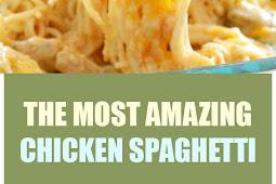 The Most Amazing Chicken Spaghetti #chicken #spaghetti