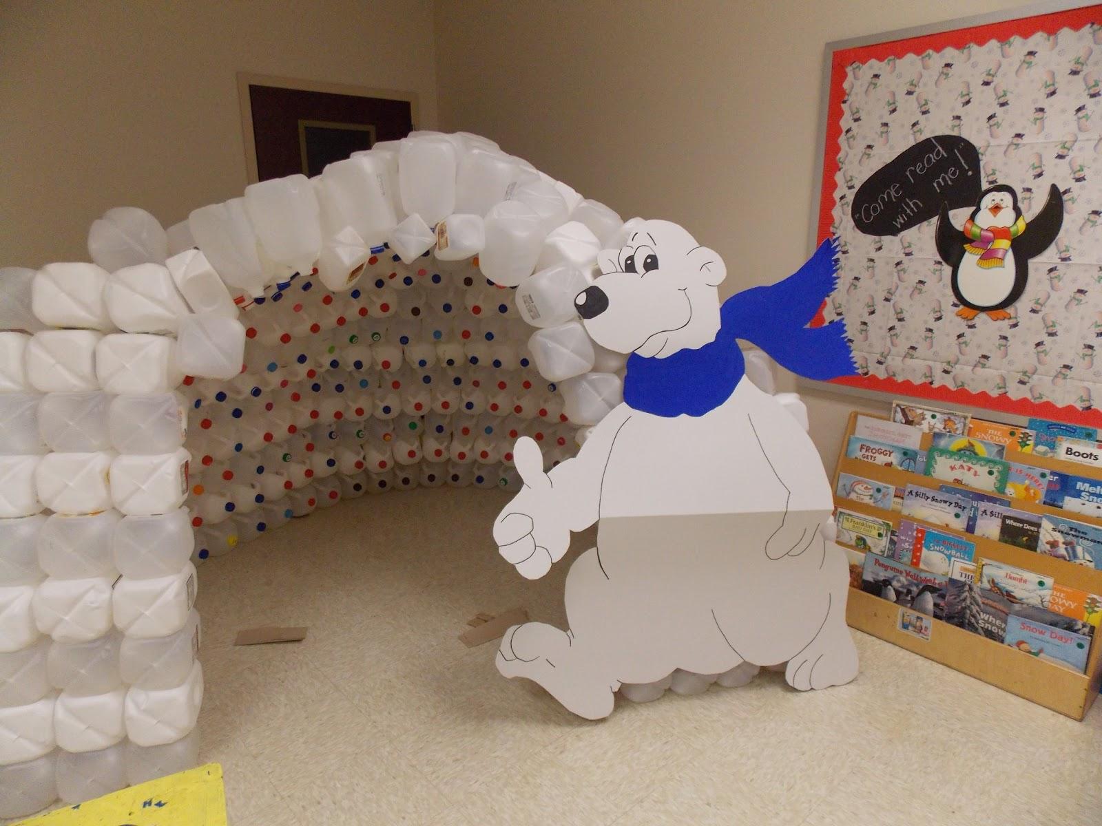 cozy kindergarten winter wonderland. Black Bedroom Furniture Sets. Home Design Ideas