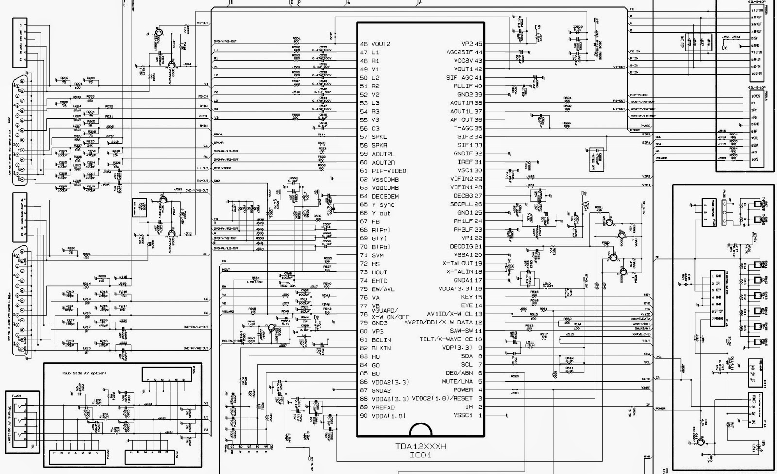 Tv Tuner Card Circuit Diagram Sony Wiring  The