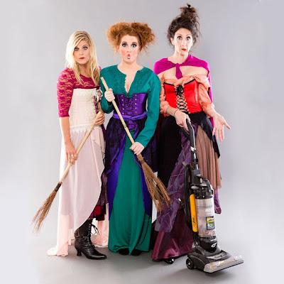 DIY Hocus Pocus costumes