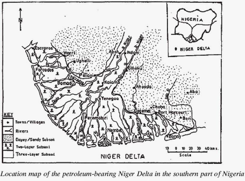 CRUDE OIL CRISIS IN THE NIGER DELTA RIVER (CREEKS