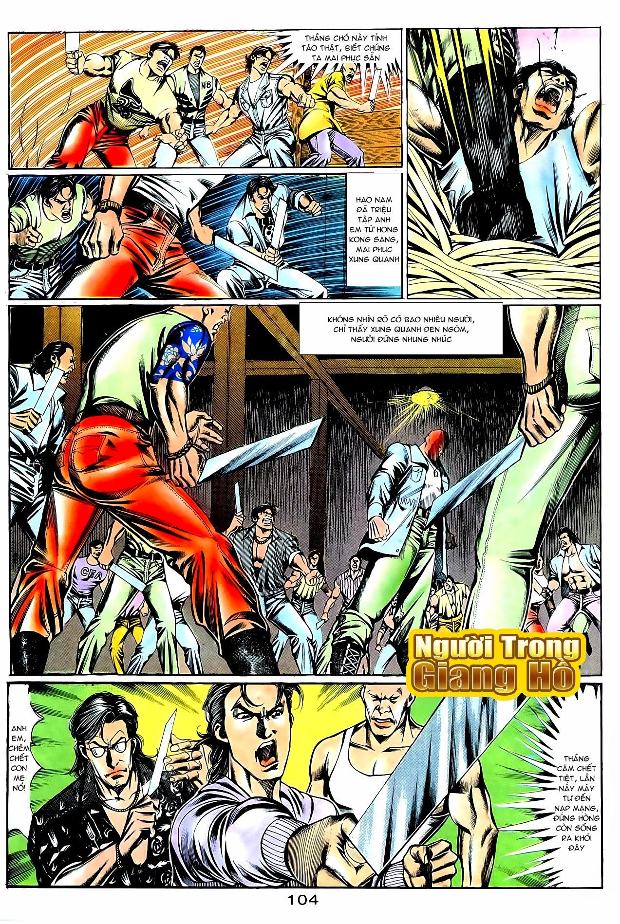 Người Trong Giang Hồ chapter 95: tình kiêu trang 5