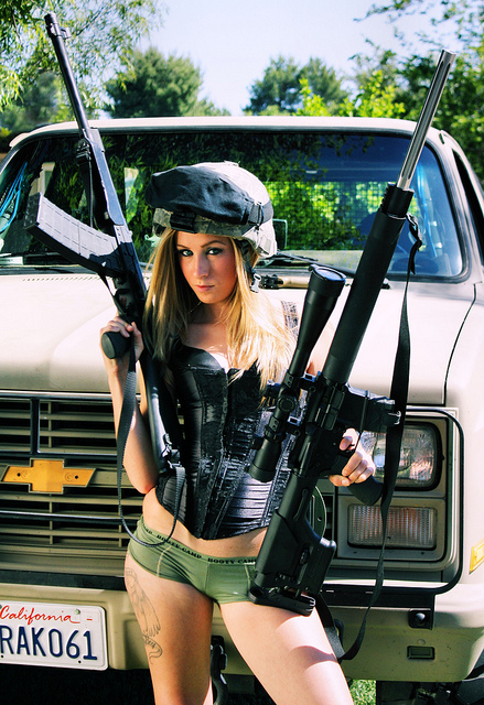 Pin by morano jeans Denim on Girl guns (With images