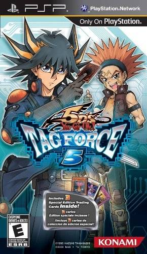 Yu-Gi-Oh! 5Ds Tag Force 5 - PSP - ISO Download