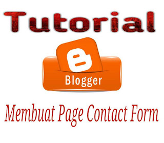 Tutorial Page Contact Form Blogger
