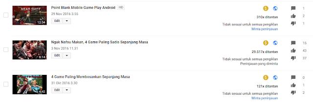 Kenapa Iklan Adsense Youtube Saya tidak Tampil? Ini Alasannya