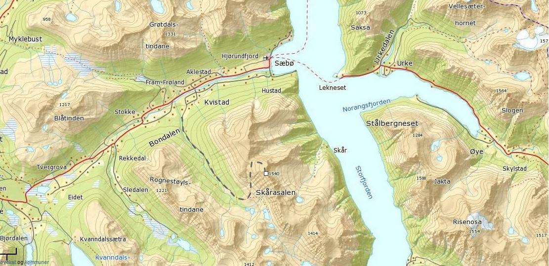 skårasalen kart Lene sin!: Bursdagsfeiring på Skårasalen (1542 moh) skårasalen kart