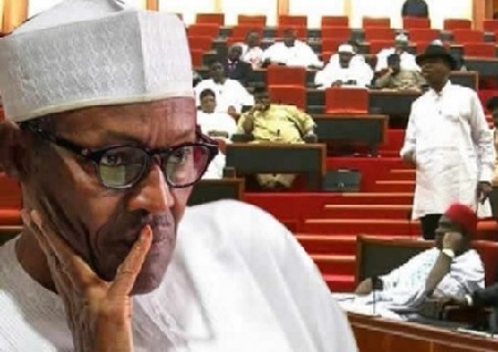 Senate Issues IMPEACHMENT Threat To Buhari, Osinajo