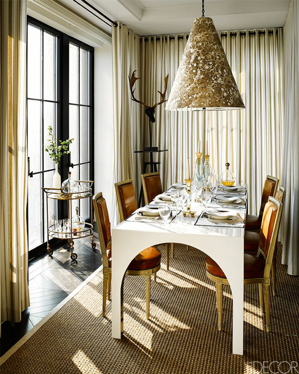 Dining Rooms From Elle Decor: The Peak Of Très Chic: Needing, Wanting, Loving: Louis XVI