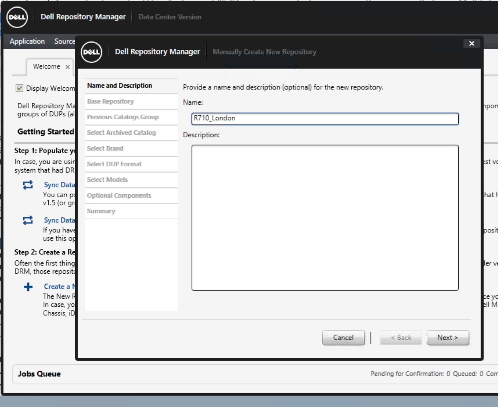 VirtualRealization: Dell rack servers - Upgrade firmware