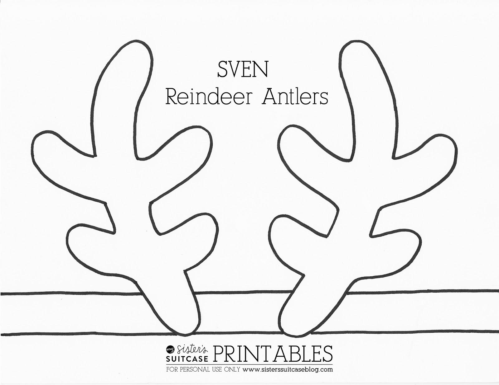 click here to download printable pdf reindeer antlers