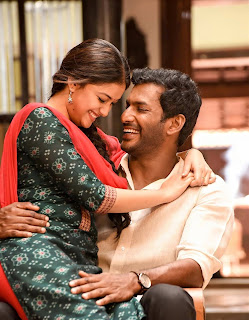 Keerthy Suresh with Cute and Lovely Smile with Vishal in Pandem Kodi 2 1