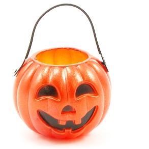 Plastic Pumpkin Tote