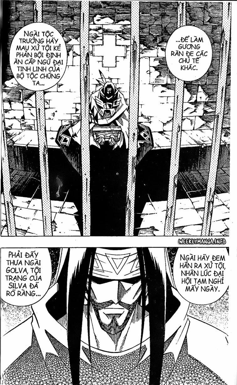 Shaman King [Vua pháp thuật] chap 208 trang 7
