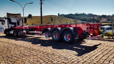 Empresa cria carreta 'mais leve' para reduzir custos de transportadoras