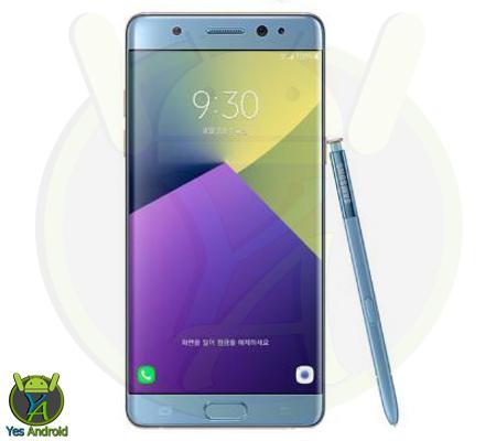 N930KKKU1BPHA Android 6.0.1 Galaxy Note 7 SM-N930K