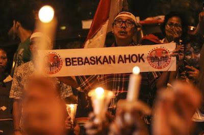 Aksi 1.000 Lilin Pendukung Ahok Bisa Timbulkan Konflik Horisontal