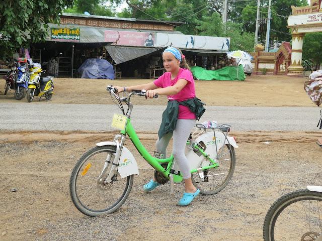 Bicicletas eléctricas de Bagan