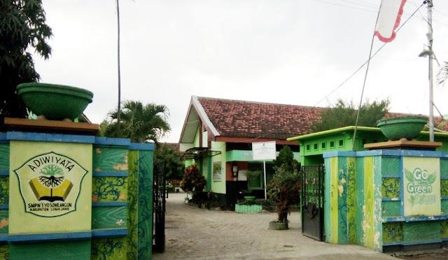 Foto SMP Negeri 1 Yosowilangun. (cho)