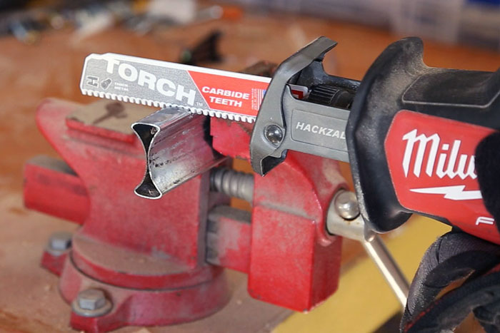 Torche carbide teeth blade