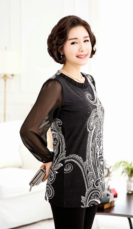 Middle-Agedolder Womens Fashion Clothing Apparel-5372
