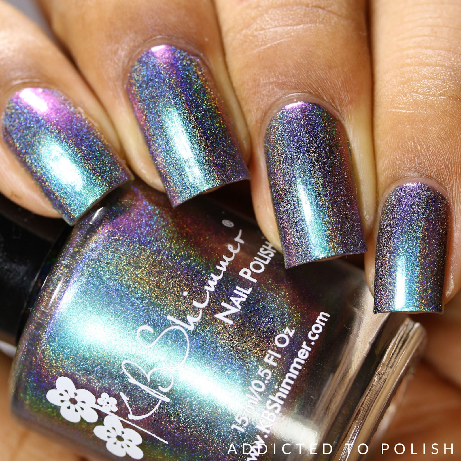 KBShimmer None of Your Bismuth Hella Holo Customs