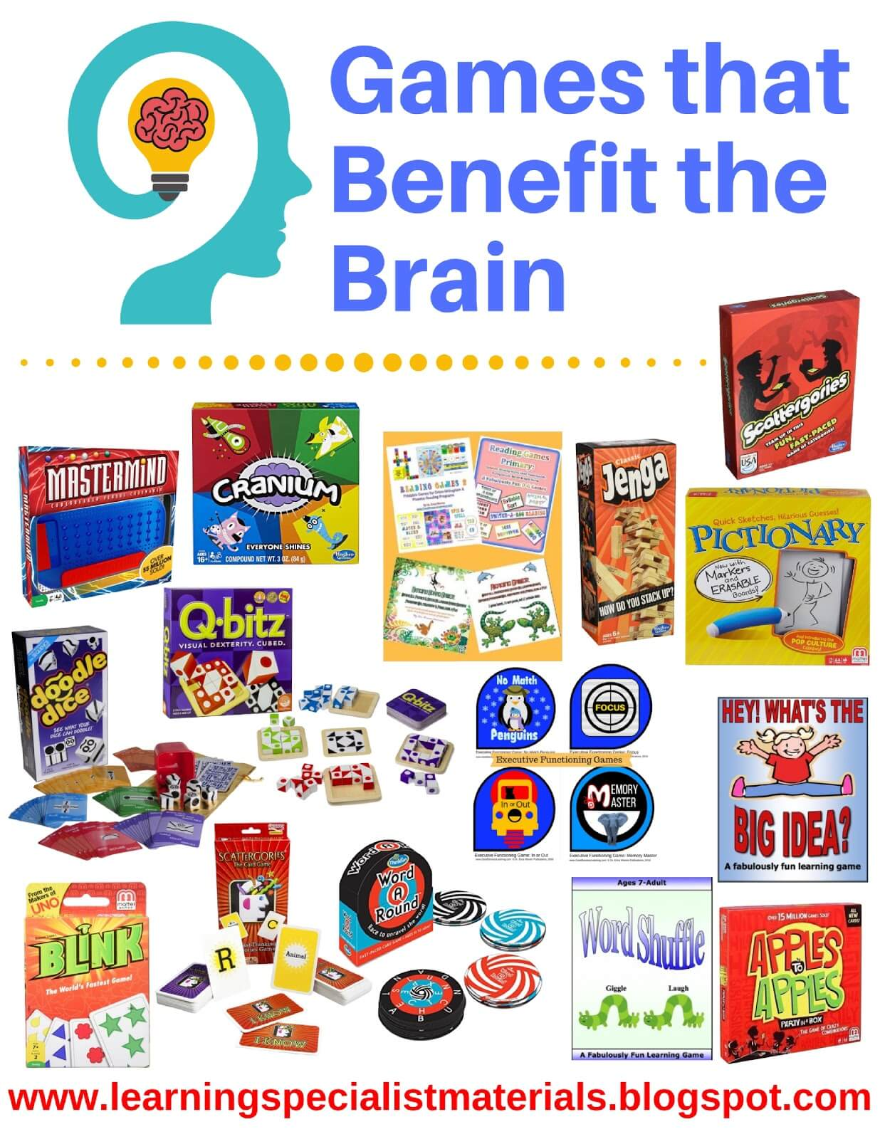 Games that Benefit the Brain
