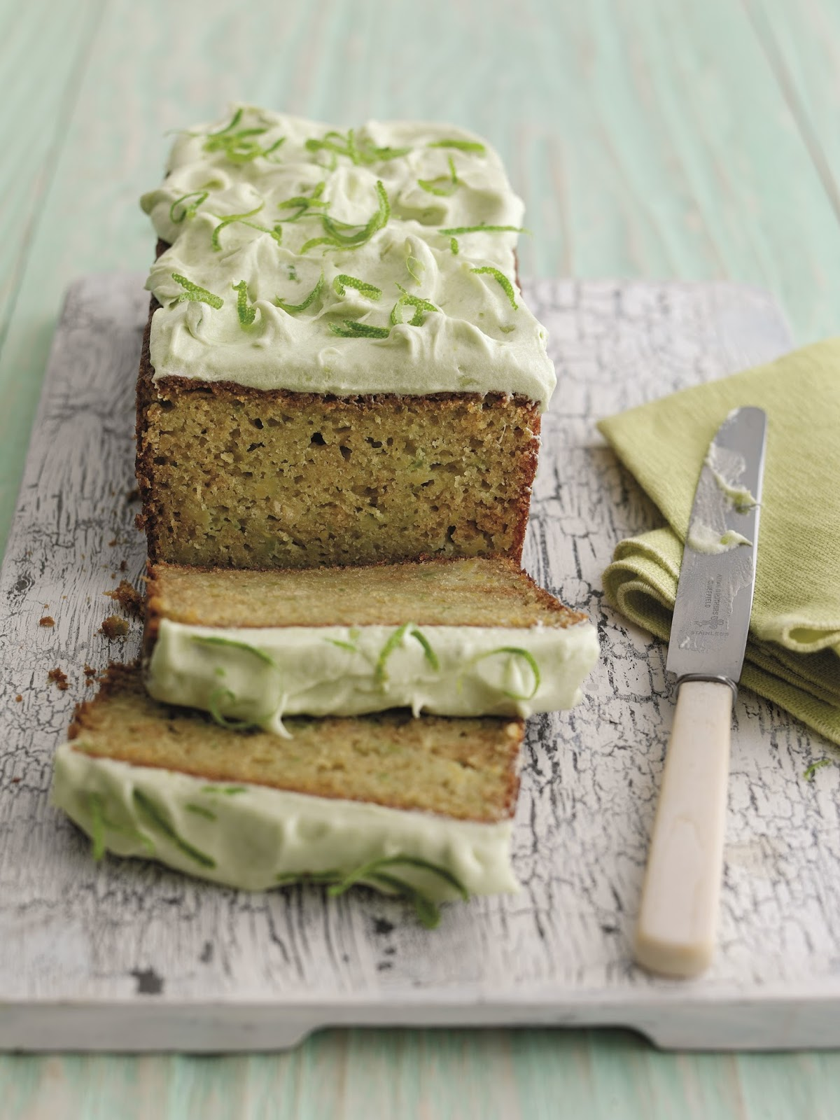 Zesty Avocado And Lime Cake