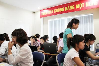 Lớp học kế toán tổng hợp, kế toán thực hành ngắn hạn tại Vĩnh Long